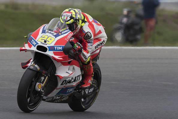 """Moto GP, si rivede Iannone: """"Voglio chiudere l'anno al meglio"""""""