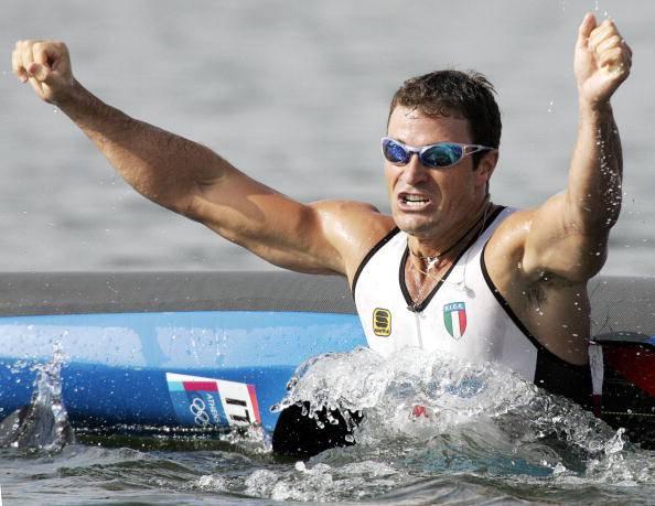 Antonio Rossi, stella della Canoa italiana con 3 ori olimpici