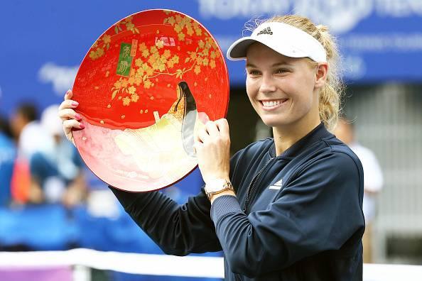 Caroline Wozniacki, stella del tennis mondiale. Ha vinto Tokyo 2016