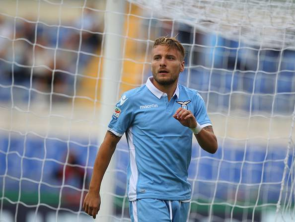 Ciro Immobile, attaccante della Lazio Serie A