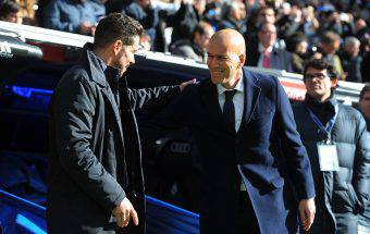 Simeone e Zidane