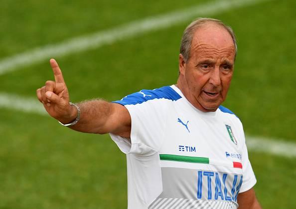 Giampiero Ventura, allenatore dell'Italia