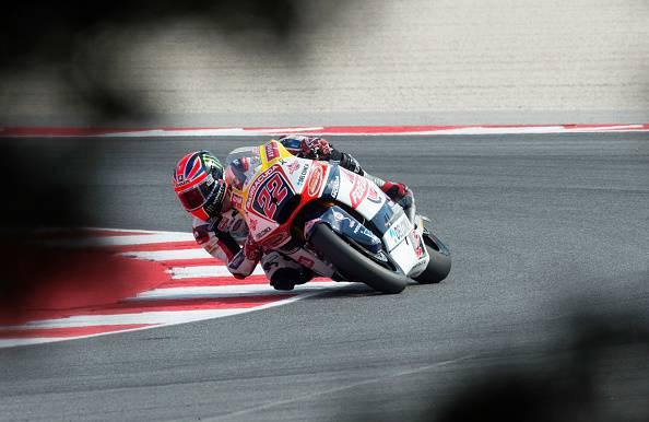 Moto 2, Aragon: Sam Lowes firma la pole position. Sesto Baldasarri
