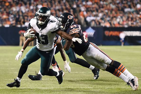NFL, si conclude la seconda giornata: Eagles vincenti a Chicago