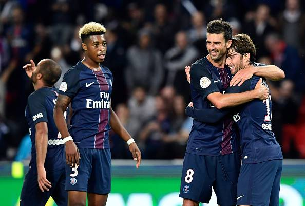 L'esultanza del Paris Saint Germain (getty images) SN.eu