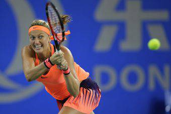 Petra Kvitova finalista del torneo WTA di Wuhan (getty images) SN.eu
