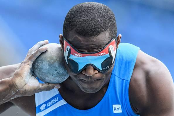 Oney Tapia, medaglia d'argento alle paralimpiadi di Rio 2016 per l'Italia