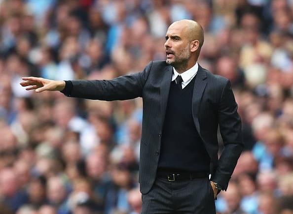 Pep Guardiola, allenatore del Manchester City Premier League