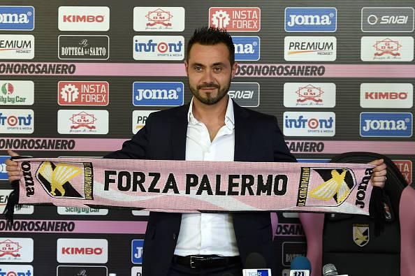 Roberto De Zerbi, nuovo allenatore del Palermo