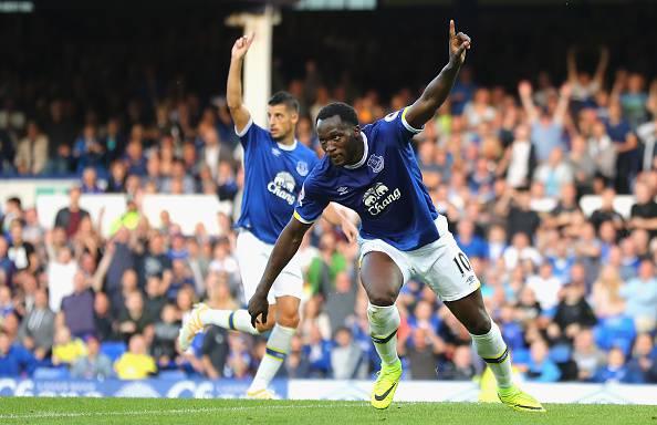 Romelu Lukaku, attaccante dell'Everton e cannoniere in Premier League