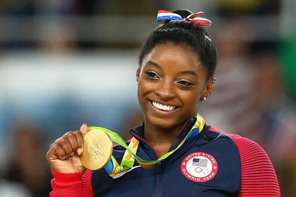 Simone Biles, ha vinto quattro ori e un bronzo a Rio 2016 doping