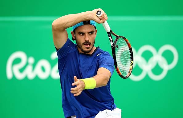 Thomas Fabbiano, protagonista del tennis italiano