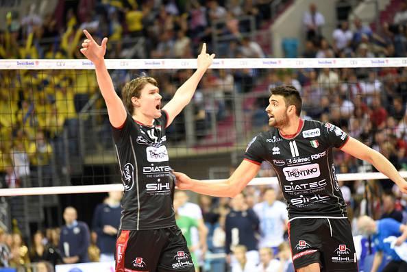 Volley, Mondiali per Club: inizio ottimo per Trentino