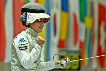 Arianna Errigo, stella della scherma azzurra e mondiale