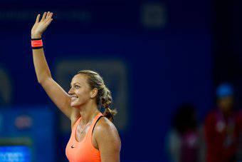 Petra Kvitova trionfa al  torneo di Wuhan (getty images) SN.eu