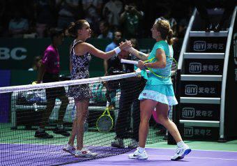Agnieszka Radwanska e Svetlana Kuznetsova
