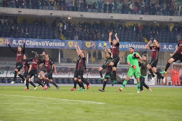 Serie A: il Milan espugna il Bentegodi, finisce 3-1 per i rossoneri