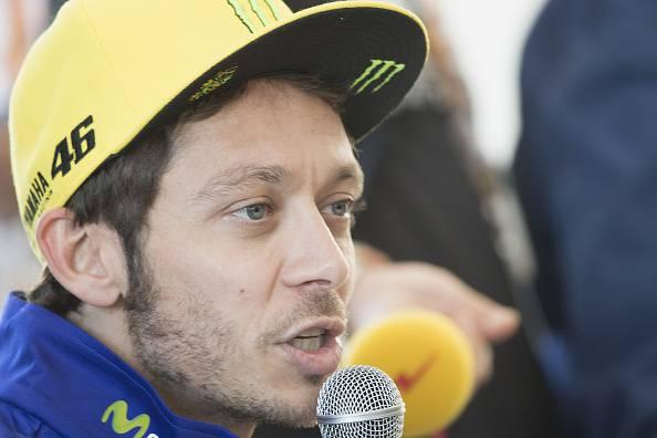 Valentino Rossi, stella della Moto GP