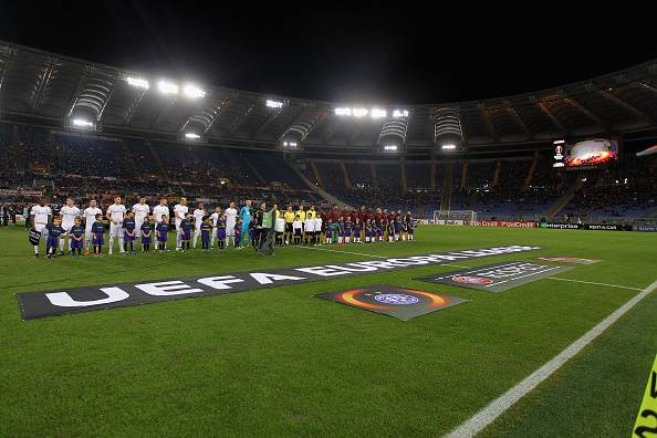 Europa League: clamoroso all'Olimpico, la Roma si fa rimontare. Pari Sassuolo