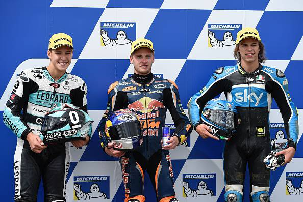 Moto 3, Philipp Island: Binder firma la pole position. Bulega in prima fila
