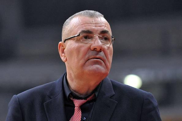 Jasmin Repesa, allenatore dell'EA7 Milano, squadra protagonista anche in Eurolega