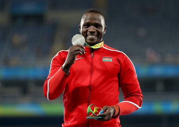 Julius Yego, argento a Rio 2016 nel giavellotto