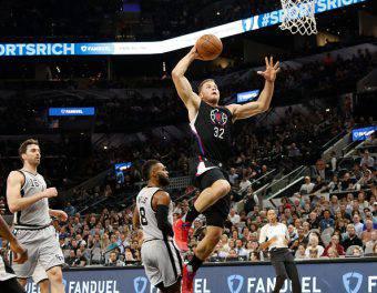 Blake Griffin, stella dei Los Angeles Clippers e tra i migliori giocatori NBA
