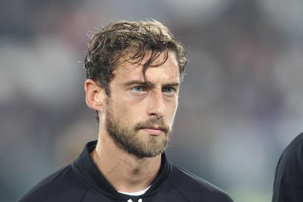 Claudio Marchisio, centrocampista della Juventus e dell'Italia