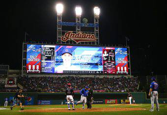 MLB Cleveland Indians v Chicago Cubs