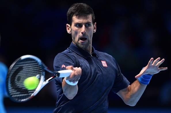 Novak Djokovic, protagonista alleATP World Tour Finals