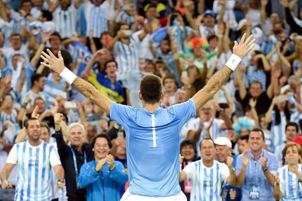 Del Potro Coppa Davis