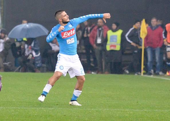 Lorenzo Insigne, attaccante del Napoli Serie A