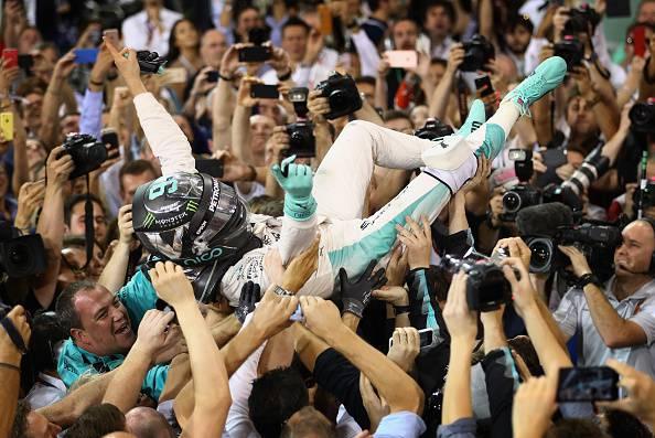 Nico Rosberg, campione del mondo di Formula 1 del 2016