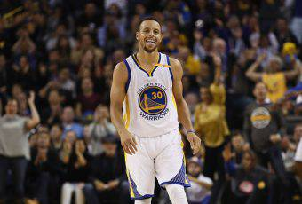 Stephen Curry, due volte MVP della NBA