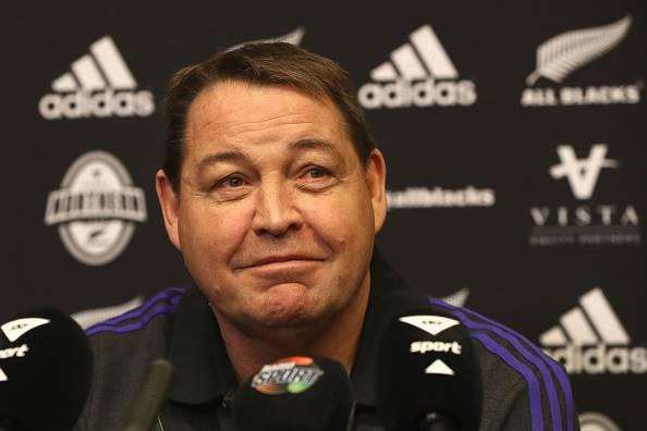 Steve Hansen, allenatore degli All Black, dominatori del Rugby mondiale