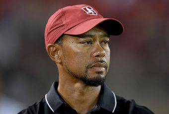 Tiger Woods, stella del golf mondiale