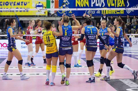 Lega Volley femminile: Conegliano si riprende la vetta