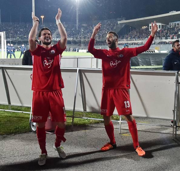 Serie B: Bari-Spal 1-1, a segno Antenucci e Maniero su rigore