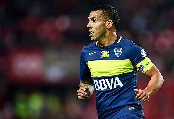 Carlos Tevez, attaccante del Boca Juniors e stella del calcio mondiale