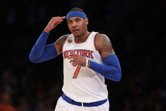 Carmelo Anthony, stella dei New York Knicks e icona NBA