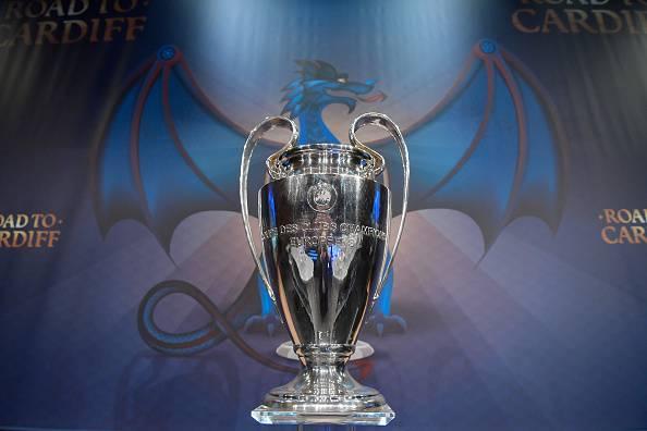 Il trofeo assegnato a chi vince la Champions League