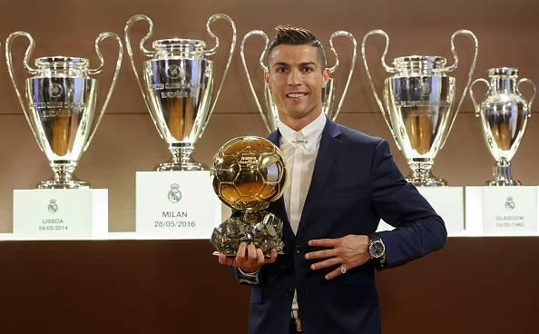 Crisitano Ronaldo, stella del Real Madrid e del calcio mondiale