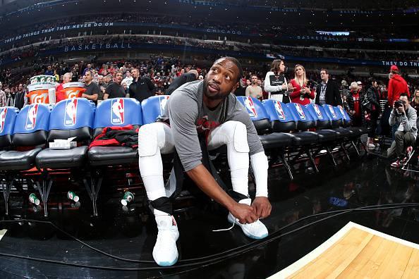 Dwyane Wade, tre volte campione NBA. Gioca nei Chicago Bulls