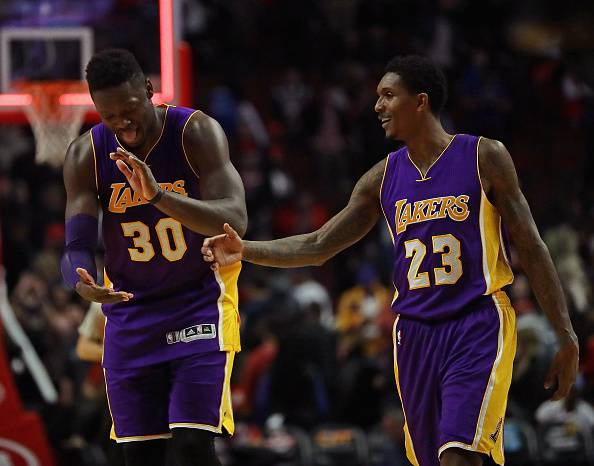 Julius Randle e Lou Williams, cardini dei Los Angeles Lakers