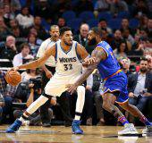 Karl-Anthony Towns, astro nascente della NBA (getty images) SN.eu