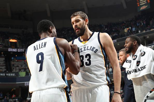 Marc Gasol, all star NBA, gioca nei Memphis Grizzlies
