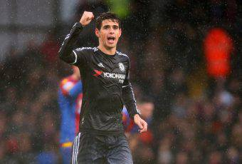 Oscar, ex giocatore del Chelsea. E' il nuovo simbolo del calcio cinese
