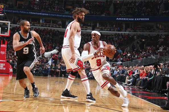 Rajon Rondo, giocatore NBA. Attualmente ai Chicago Bulls