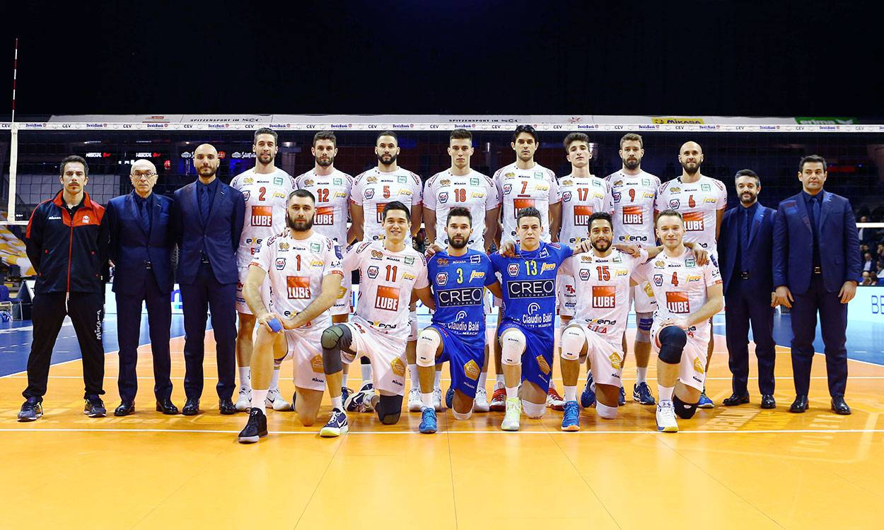 Superlega Volley, nessun problema per la Lube. Il big match va…