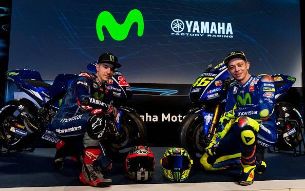 Ecco la nuova Yamaha di Valentino Rossi e Maverick Viñales